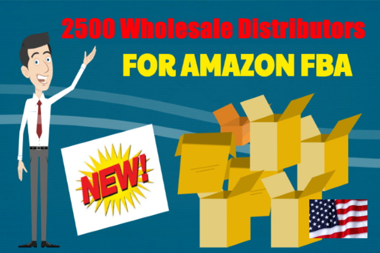 2500 Wholesale Distributors for Amazon FBA