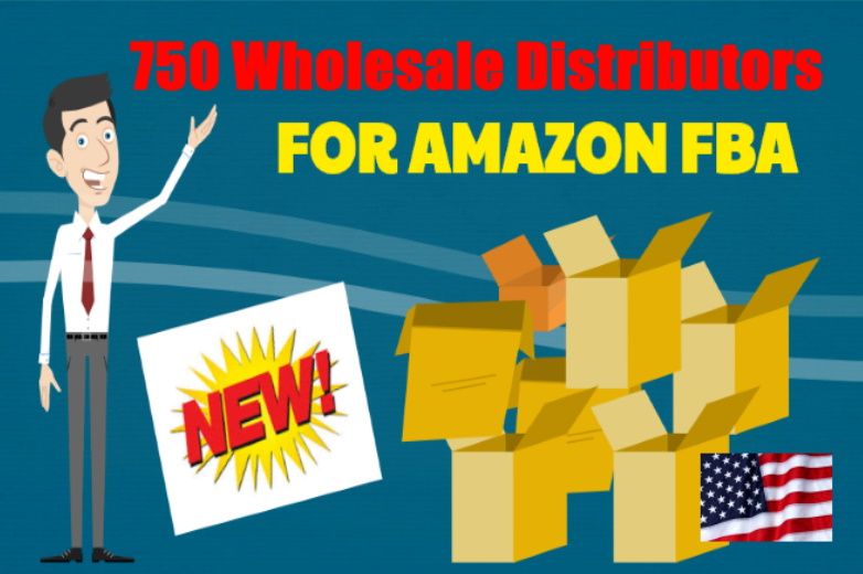 750 USA wholesale suppliers for Amazon FBA