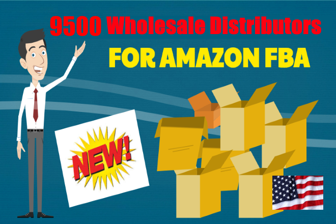9500 Distributors for Amazon FBA